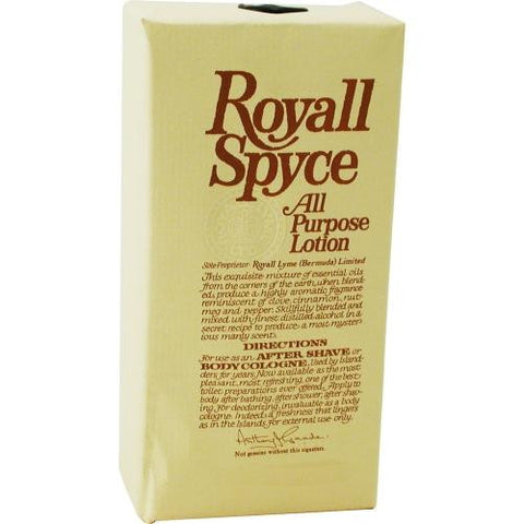 Royall Spyce By Royall Fragrances Aftershave Lotion Cologne 8 Oz