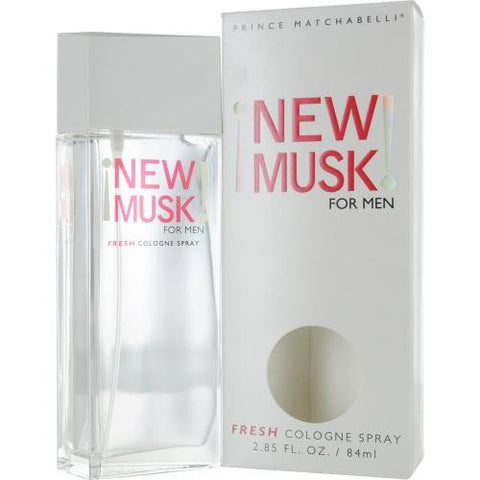 New Musk By Musk Cologne Spray 2.85 Oz