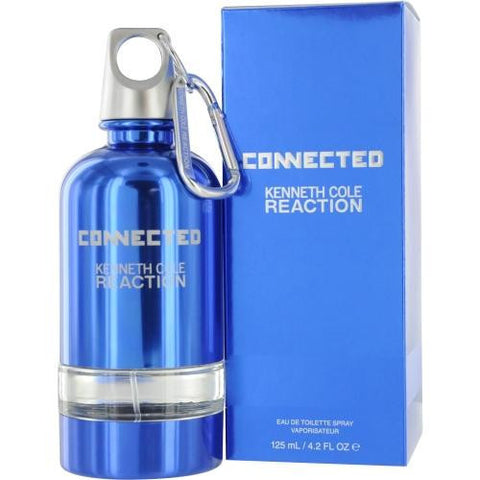 Kenneth Cole Reaction Connected By Kenneth Cole Edt Spray 4.2 Oz