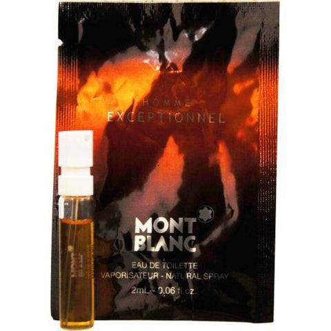 Mont Blanc Exceptionnel By Mont Blanc Edt Spray Vial On Card