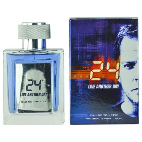 24 Live Another Day By Edt Spray 3.4 Oz