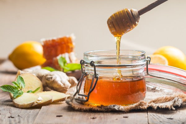 honey ginger for cough