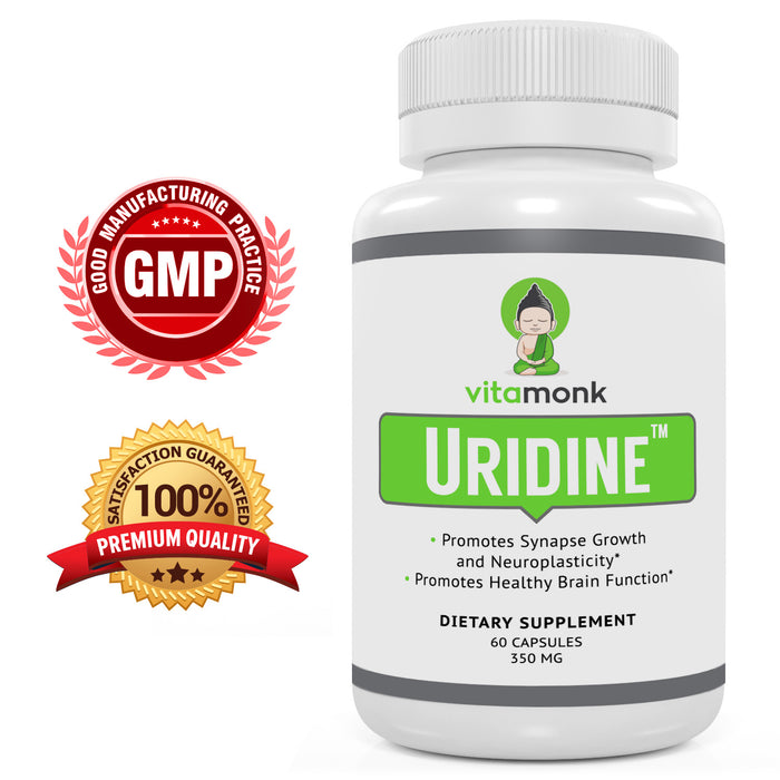 Uridine Monophosphate Capsules - Supercharge Your Brain