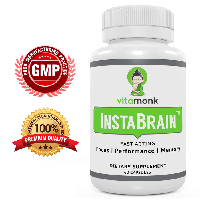 InstaBrain - Instant Brain Boost | Focus and Clarity