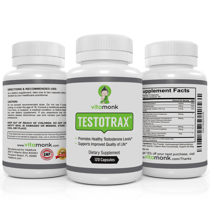 TestoTrax™ - Advanced Testosterone Optimizer