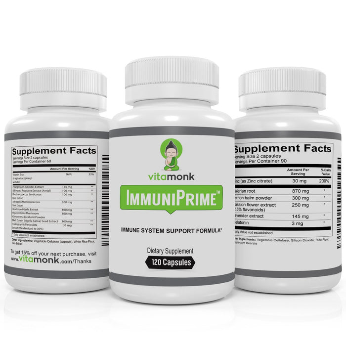 ImmuniPrime™ - Healthy Immune System Support Supplement