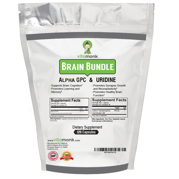 The Brain Booster Stack - Alpha GPC and Uridine Combo