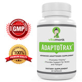 AdaptoTrax - All-In-One Adaptogen Supplement - For Optimal Mood, Stress Management, Energy, and Brain Power