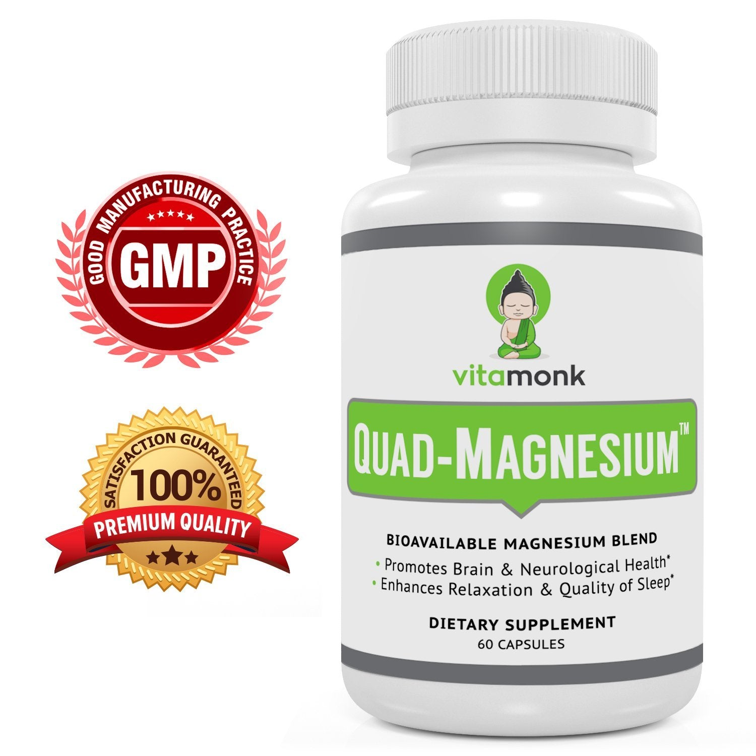 Quad-magnesium™ - All-in-one Magnesium Supplement For Sleep, Energy, Mood, And Health