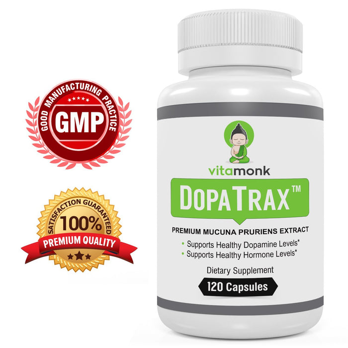 DopaTrax™ - Mucuna Pruriens Extract Capsules to Support Health Dopamine Levels