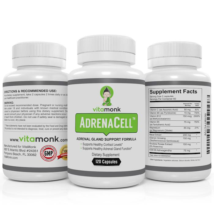 AdrenaCell™ - An Adrenal Fatigue Supplement To Support Healthy Adrenal Function