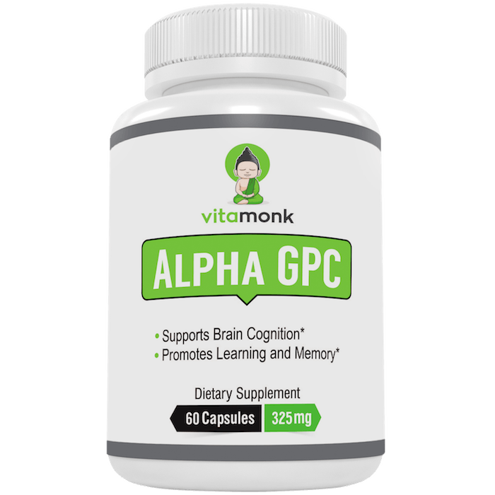 Alpha Gpc Supplement By Vitamonk Buy Online Save Vitamonk