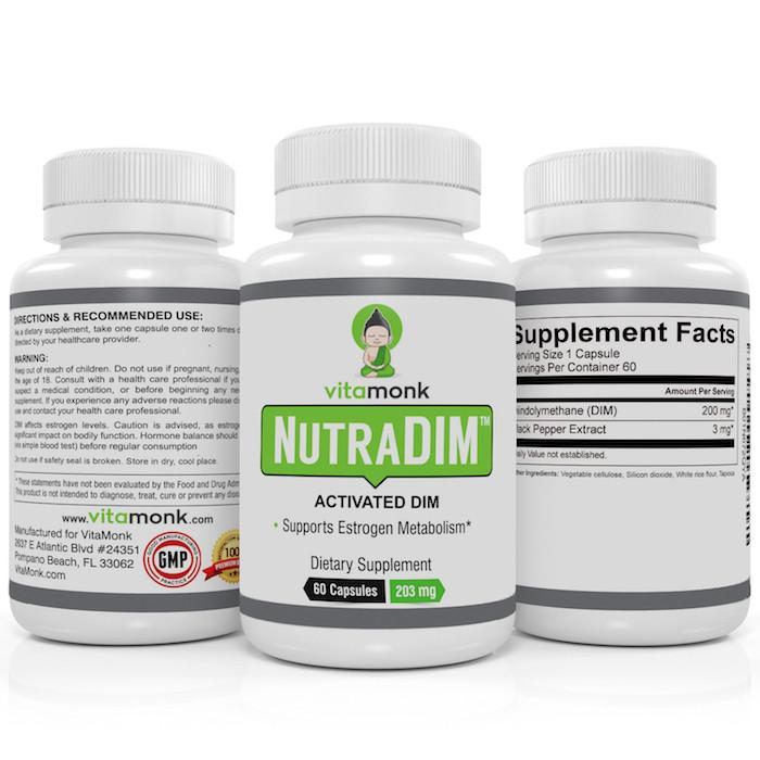 VitaMonk DIM Supplement