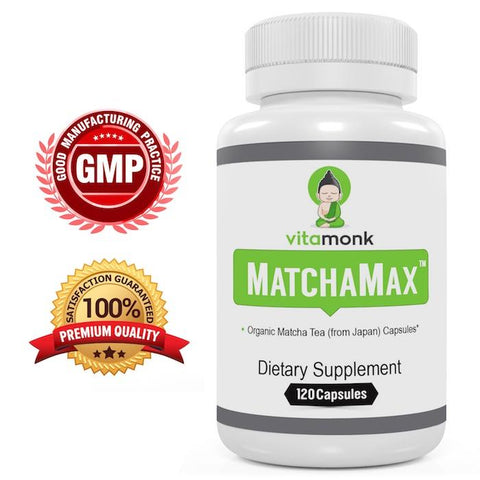 Matcha Tea Capsules for Boosting Metabolism and Weight Loss