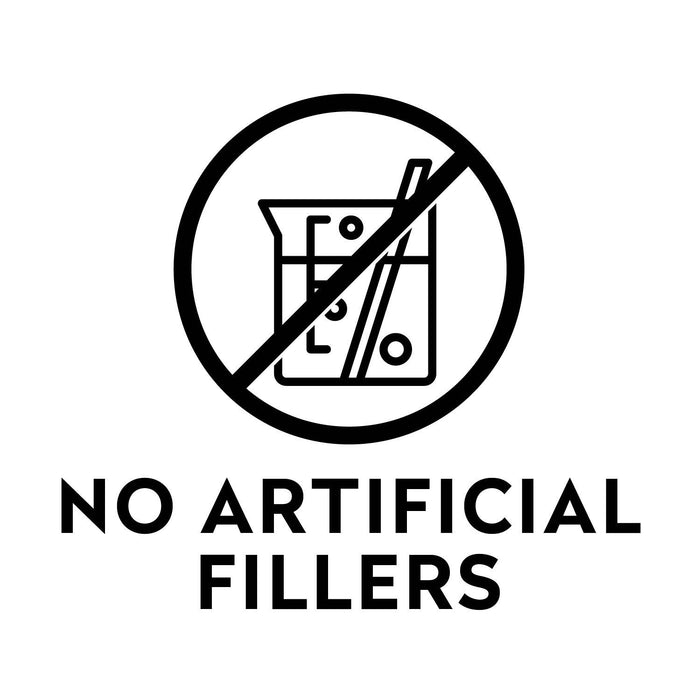 no artificial fillers