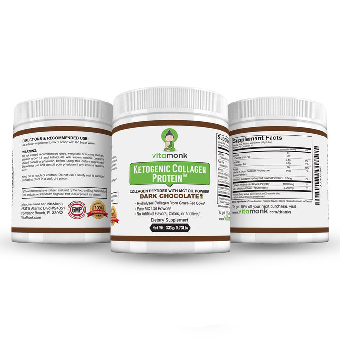 Keto Collagen Protein Powder - No-Carb Keto Superfood