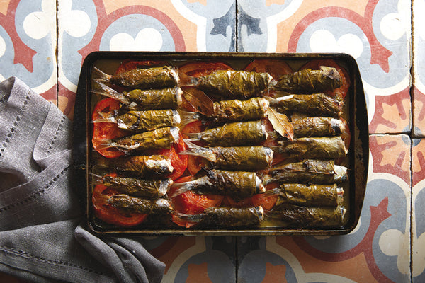 Sardines in Vine Leaves