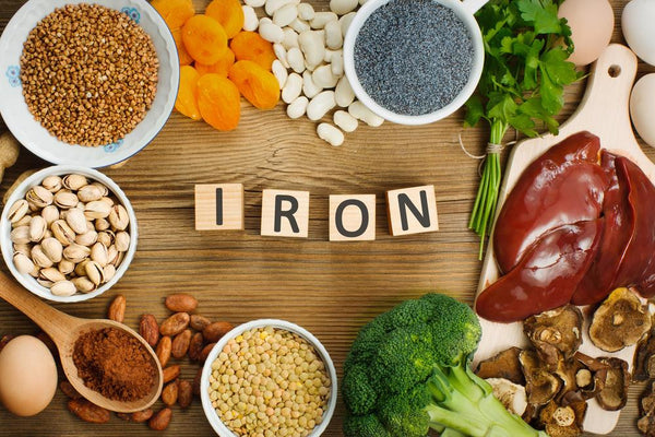 Foods high in Iron (Fe) !