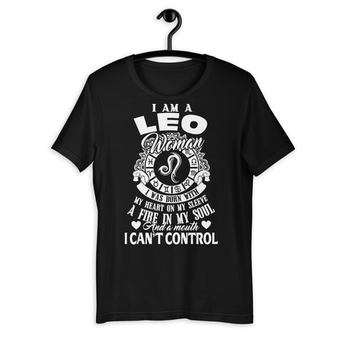 Zodiac Thing - Zodiac Tee:  - I am a Leo Woman Unisex T-Shirt