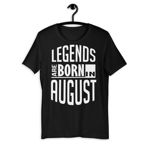 Zodiac Thing - Zodiac Tee:  - Legends are born in August Unisex T-Shirt