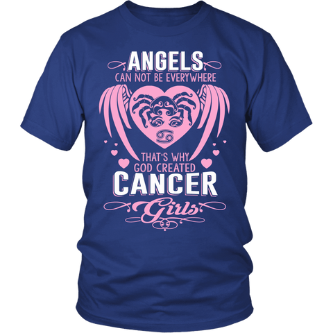Zodiac Thing - Zodiac Tee: T-shirt - Angels Cancer Girls T-shirt