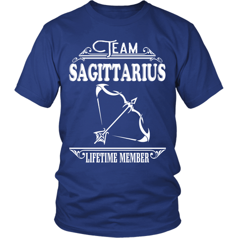 Zodiac Thing - Zodiac Tee: T-shirt - Team Sagittarius T-shirt