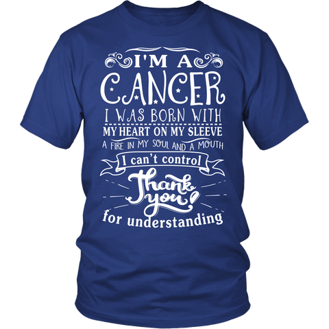 Zodiac Thing - Zodiac Tee: T-shirt - Cancer Thank you! T-shirt