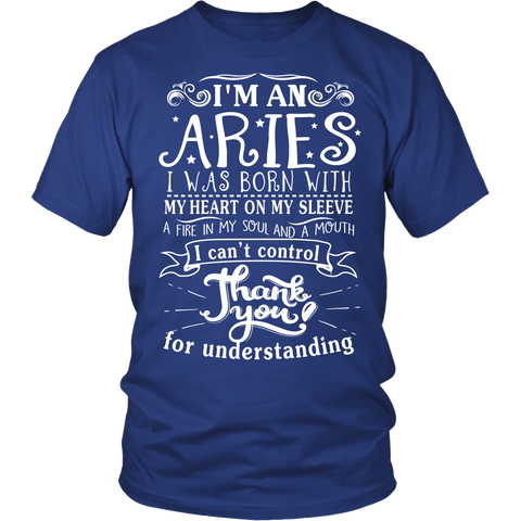 Aries Thank you T-shirt