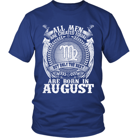 Zodiac Thing - Zodiac Tee: T-shirt - The Best Are Born In August
