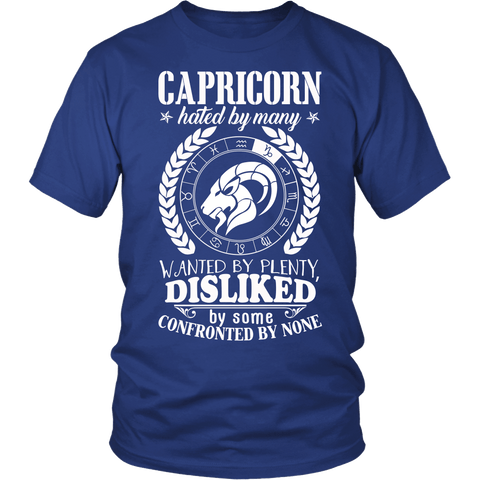 Zodiac Thing - Zodiac Tee: T-shirt - Capricorn Confronted T-shirt
