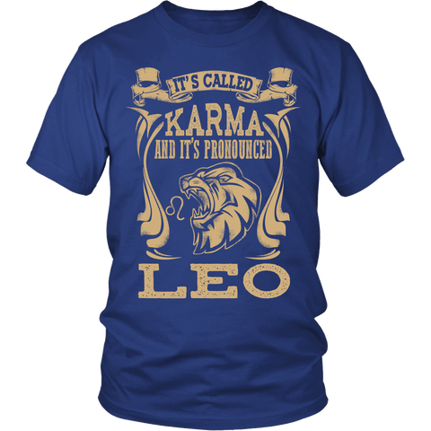 Zodiac Thing - Zodiac Tee: T-shirt - Leo Pronounced T-shirt