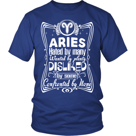 Zodiac Thing - Zodiac Tee: T-shirt - Aries wanted by plenty T-shirt