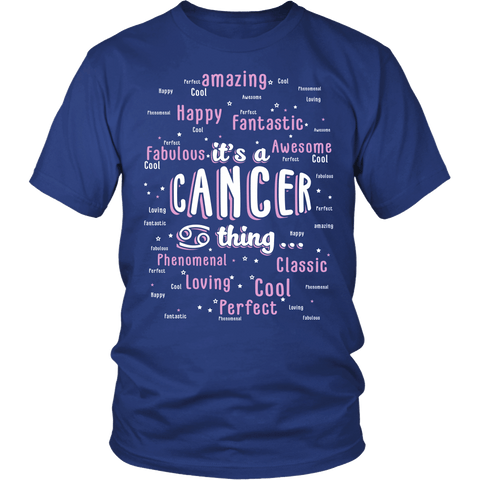 Zodiac Thing - Zodiac Tee: T-shirt - It's a Cancer Thing T-shirt