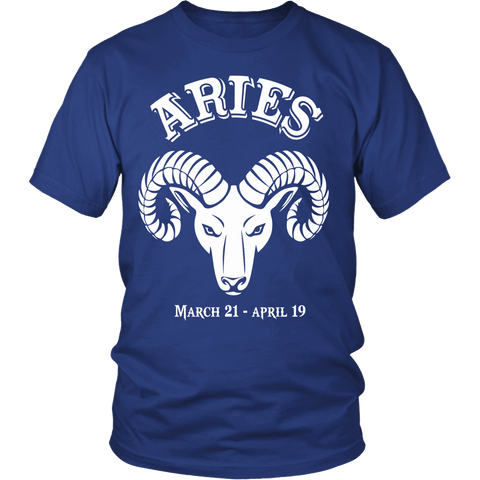 Zodiac Thing - Zodiac Tee: T-shirt - Aries T-shirt