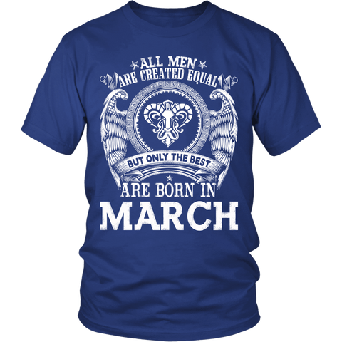 Zodiac Thing - Zodiac Tee: T-shirt - The best are born in March T-shirt
