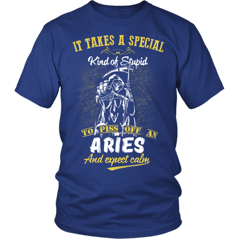 Zodiac Thing - Zodiac Tee: T-shirt - Aries Calm T-shirt