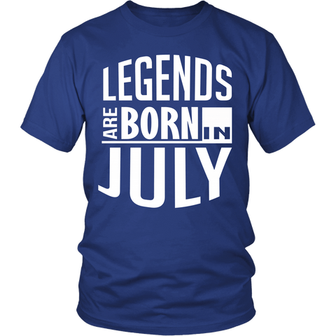 Zodiac Thing - Zodiac Tee: T-shirt - Legends Are Born In July