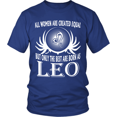 Zodiac Thing - Zodiac Tee: T-shirt - The Best Are Born As Leo