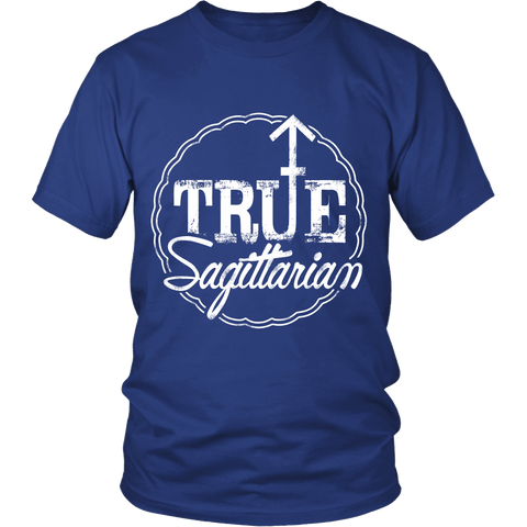 Zodiac Thing - Zodiac Tee: T-shirt - True Sagittarian T-shirt