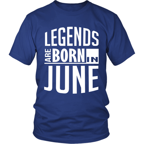 Zodiac Thing - Zodiac Tee: T-shirt - Legends Are Born In June T-shirt