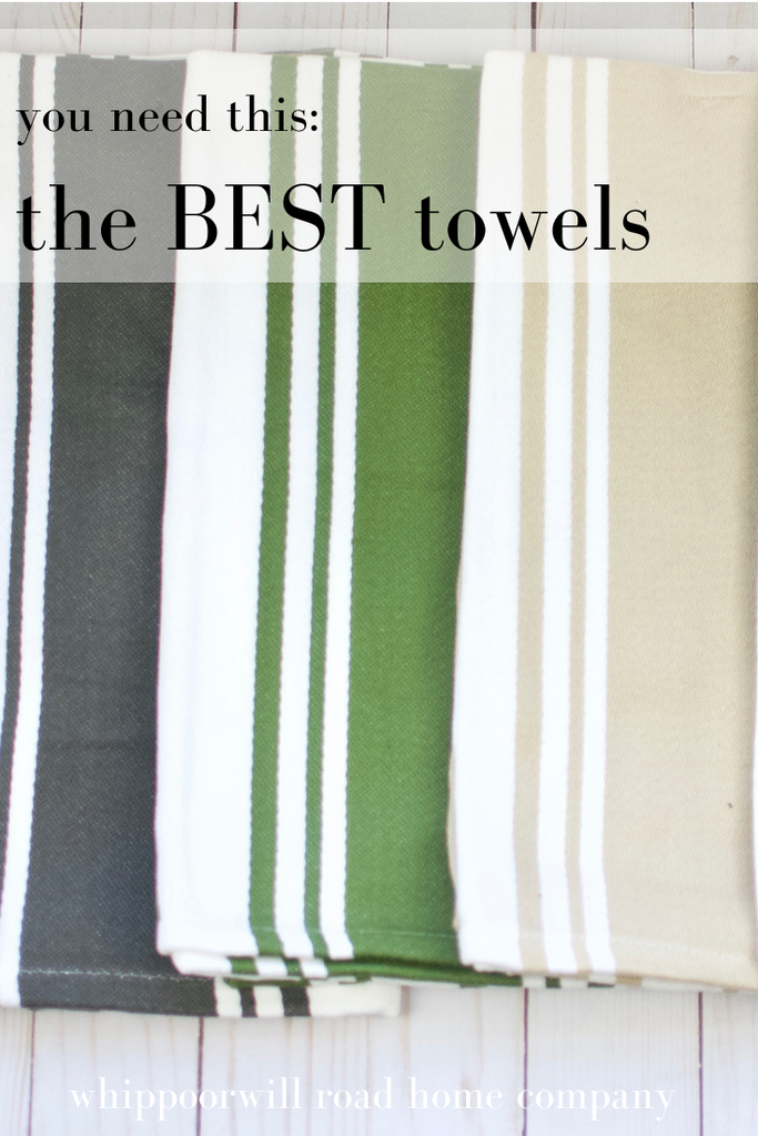 You Need This: Towel Upgrade