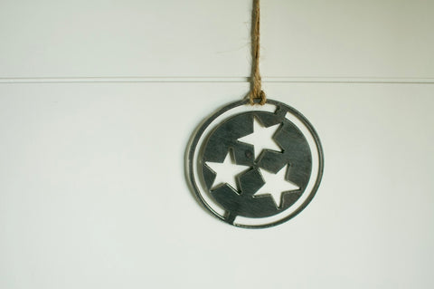 Handmade Tennessee Tri-Star  with Border