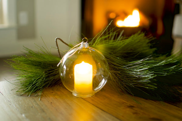 Flickering Candle Ornament