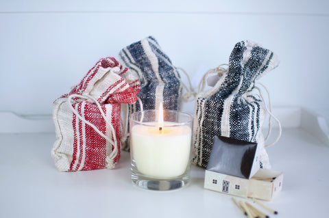 Grain Sack Candle