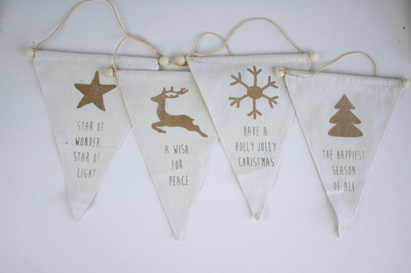 Christmas Banner Ornament