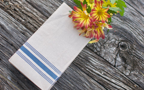 Cottage Stripe Guest Towels