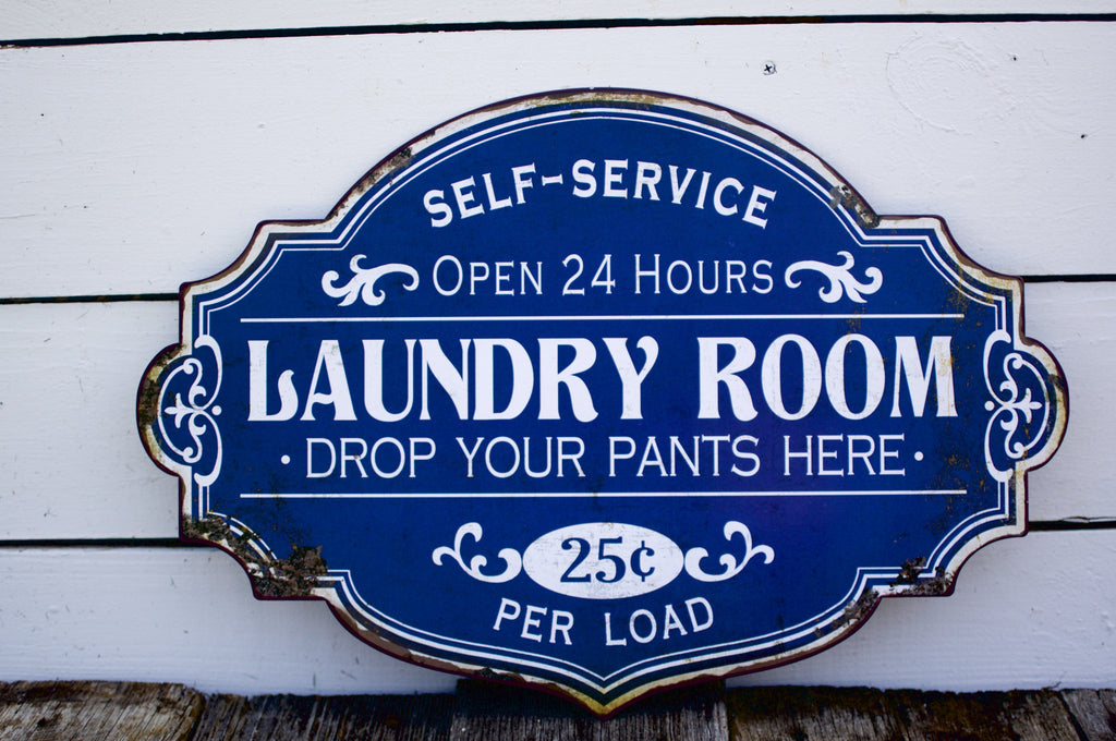 Laundry Room Hours Sign Laundry Room Sign  Whippoorwill Road Home Company