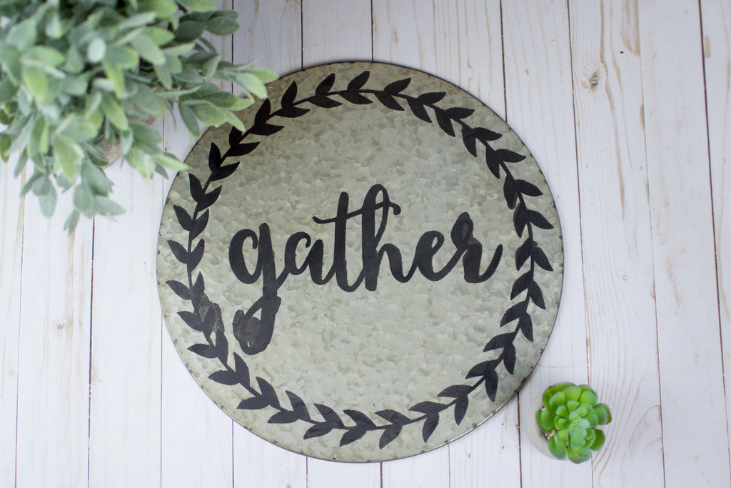 Gather Wall Tin