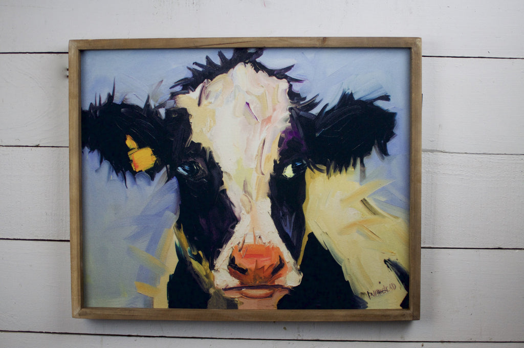 Cow Canvas