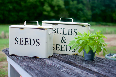 Garden Tin with Lid